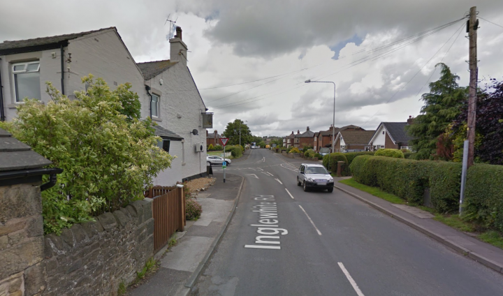 Inglewhite Road where the incident happened Pic: Google