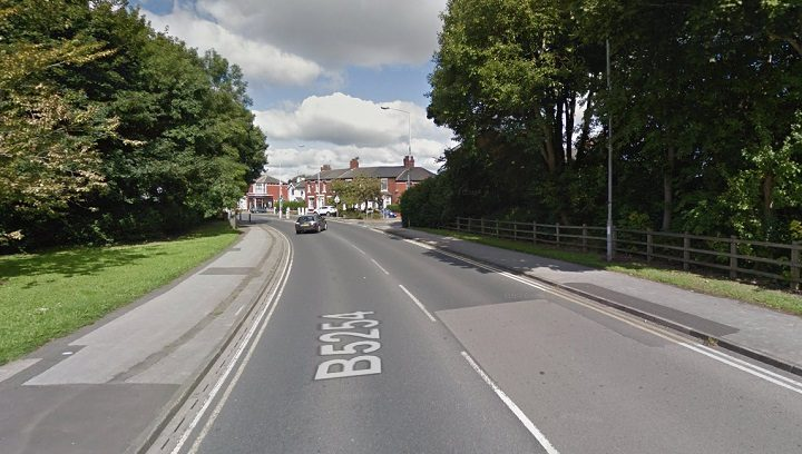 Leyland Road was closed while the crash was dealt with Pic: Google