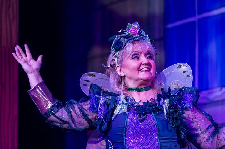Linda Nolan as The Fairy Pic: Michael Porter