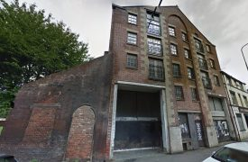 The abandoned building in Lord Street Pic: Google