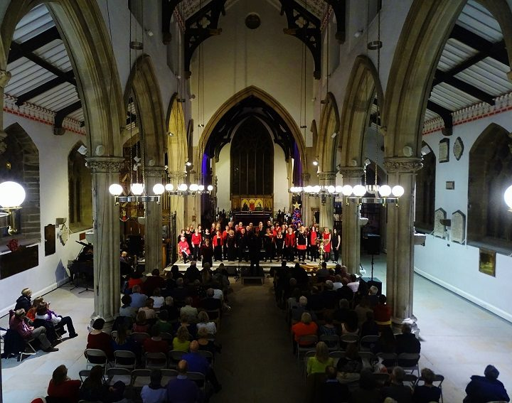 The One Voice Community Choir at Preston Minster