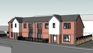 How the new homes in Parker Street may look