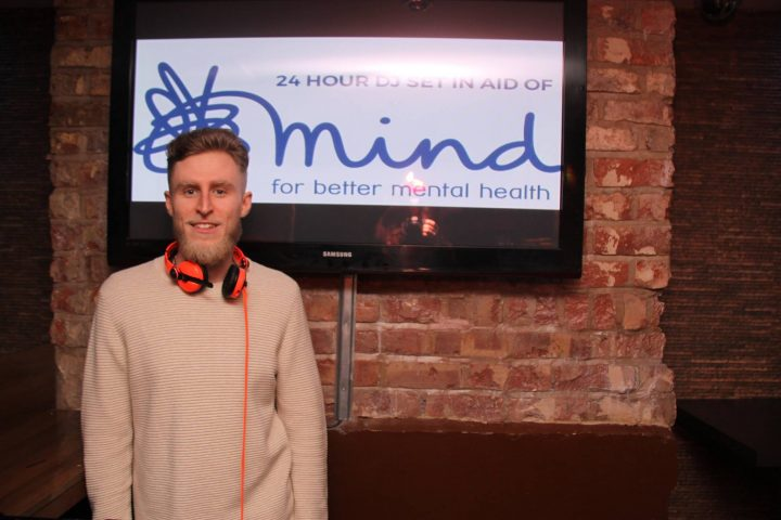 Jay Whalley is now well and looking to raise awareness of mental health problems