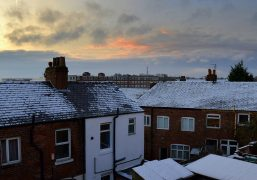 A cold morning in Preston Pic: Tony Worrall