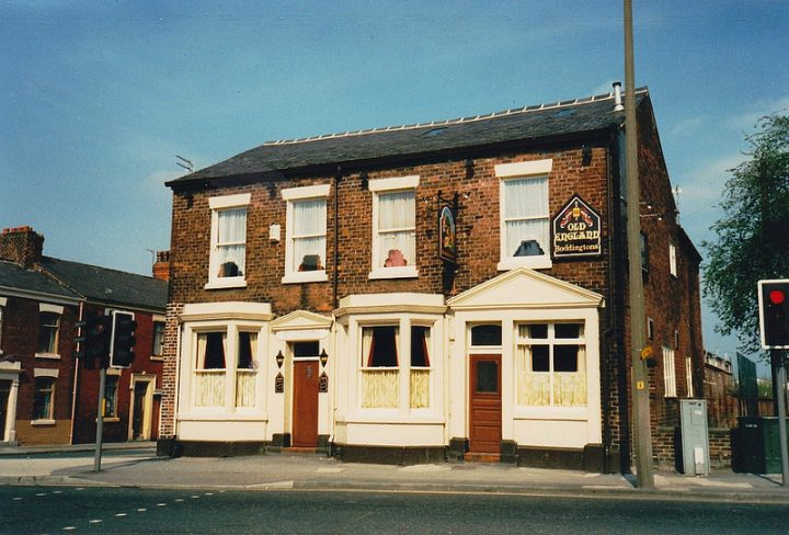 The Old England pub in happier times Pic: Preston Digital Archive