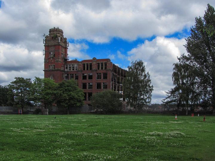 Wesley Street Mill was demolished in 2013 Pic: The View From The North