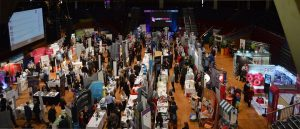 Inside last year's expo at the Guild Hall