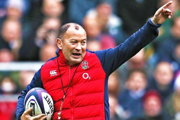 Eddie Jones calling the shots