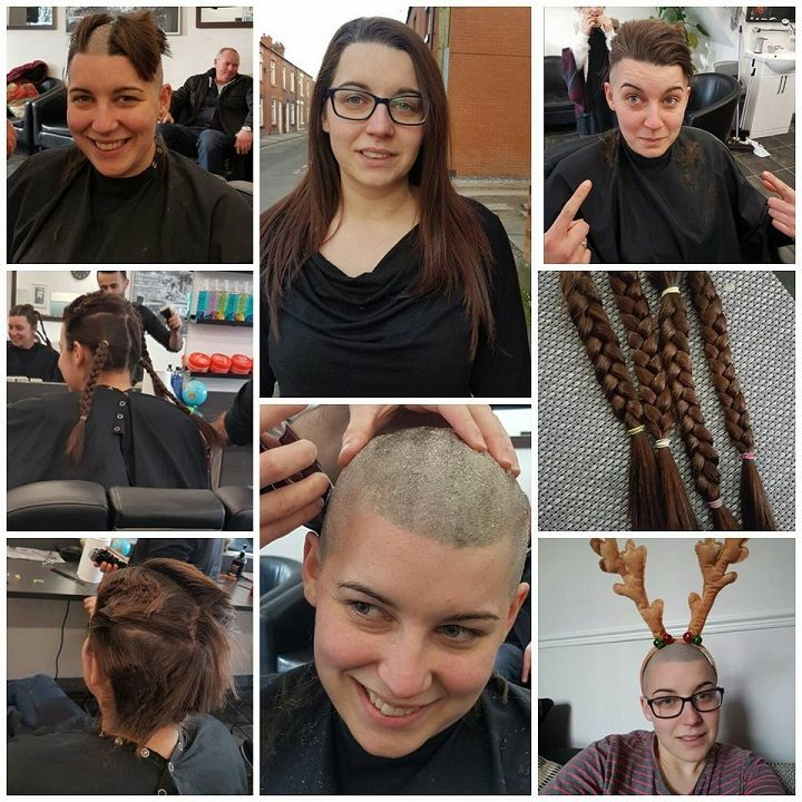 Sal's head shave documented