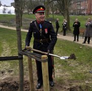 The High Sheriff in planting action