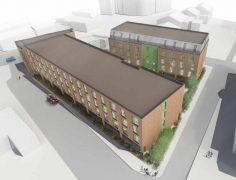 Another view of the Innovation House development