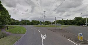 The Pope Lane roundabout on the A582 Pic: Google