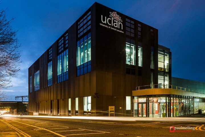 UCLan's sports building in Marsh lane Pic: Paul Melling