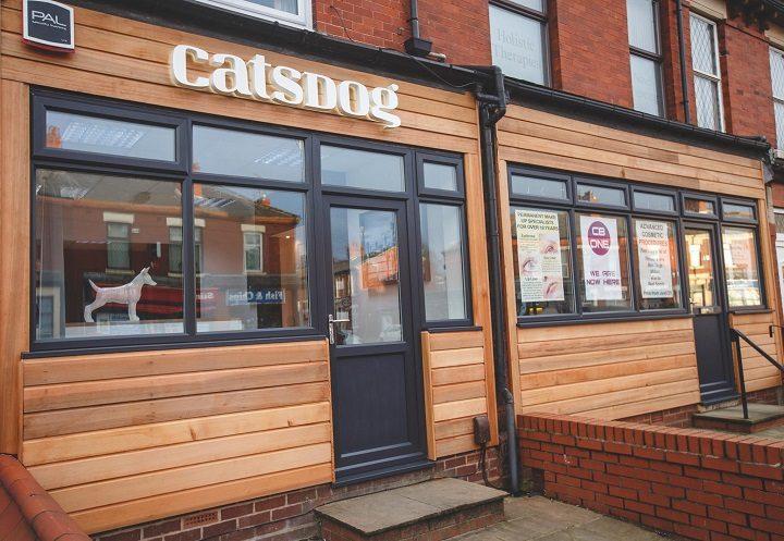 The exterior of the new Catsdog studio Pic: Cat Race