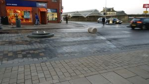 The stone plinth goes AWOL once again Pic: scooby359