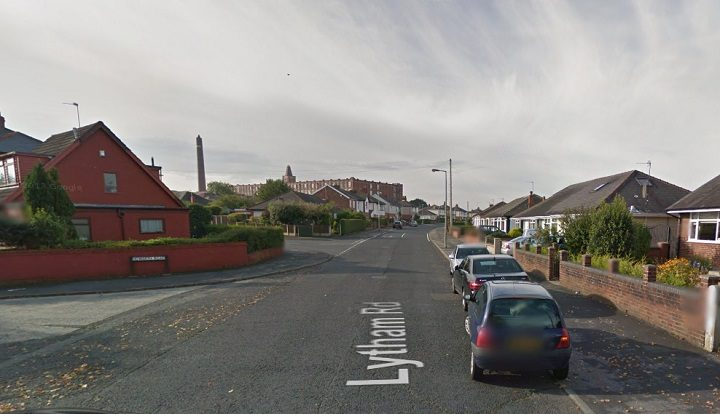 Lytham Road where the incident took place Pic: Google