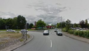 The crash happened close to Port Way Pic: Google