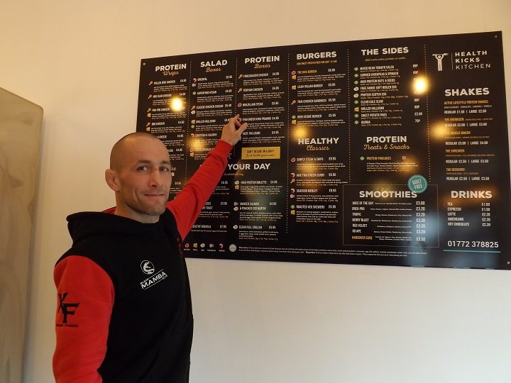 Ste Nightingale takes a look at the Health Kicks menu