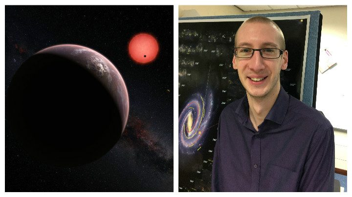 Dr Daniel Holdsworth worked on the NASA project