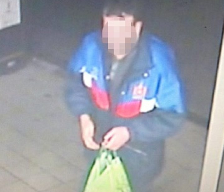 Police have released a CCTV image of the victim - saying it might help the public remember the incident