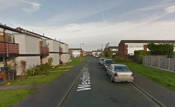 Westbrook Crescent where the incident happened Pic: Google