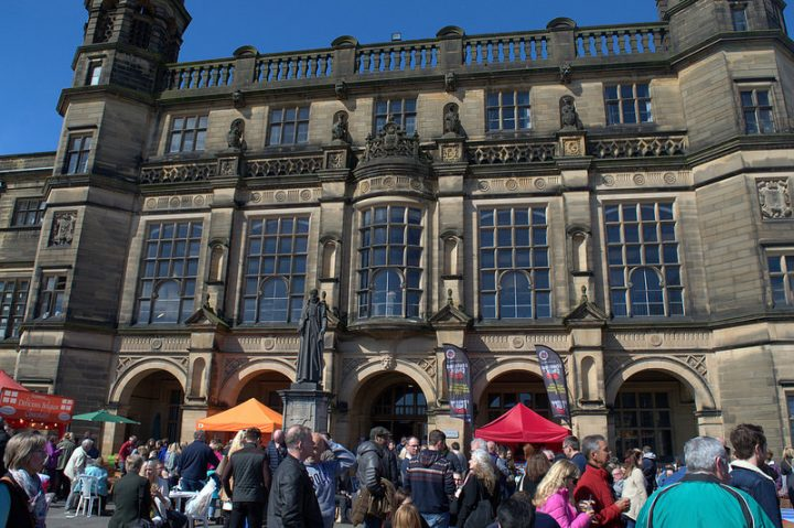 Stonyhurst College is the setting for the food festival