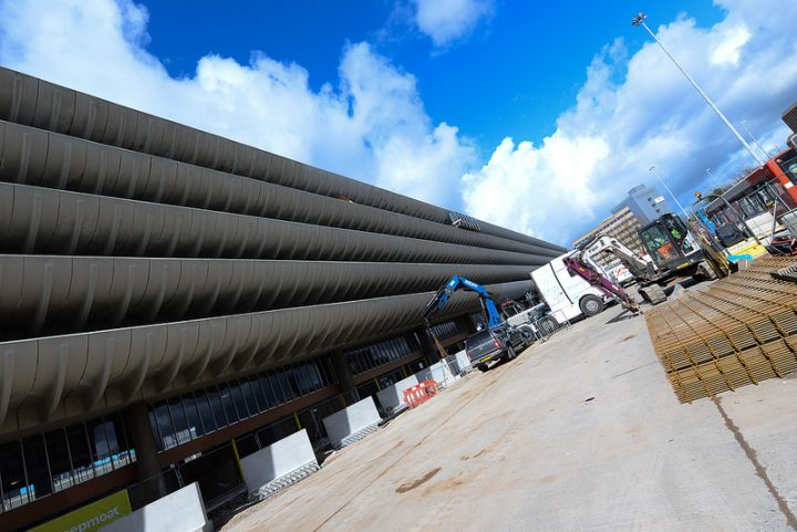 The county council is working on the Bus Station
