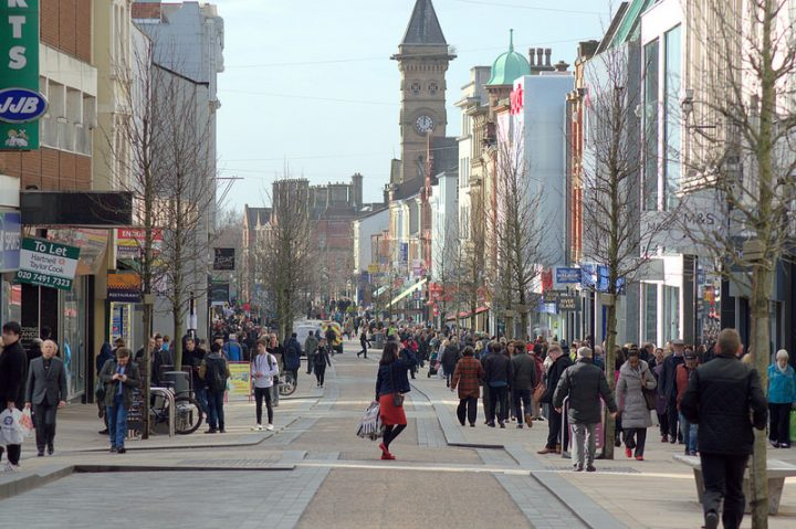 Looking down a busy Fishergate Pic: Tony Worrall