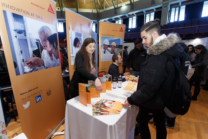 Sika explain what career opportunities they have