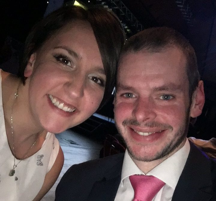 Ben Ashworth and his wife Louise