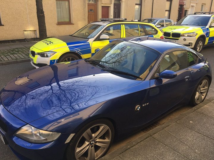 The BMW was found in Fishwick Pic: LancsRoadPolice
