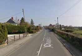 This stretch of Chapel Lane will be shut completely Pic: Google