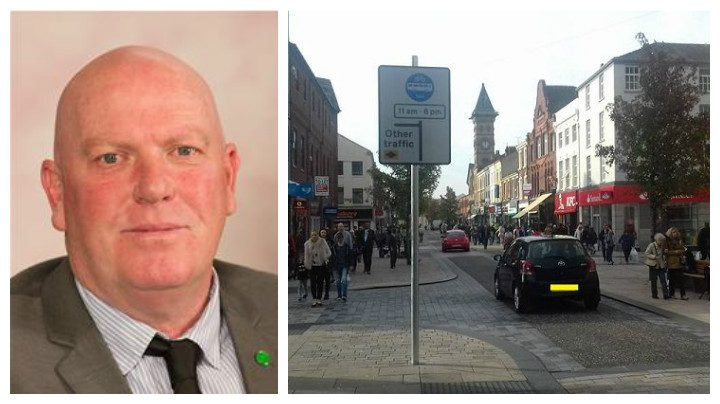 County councillor John Fillis is responsible for highways across Lancashire - including the Fishergate scheme