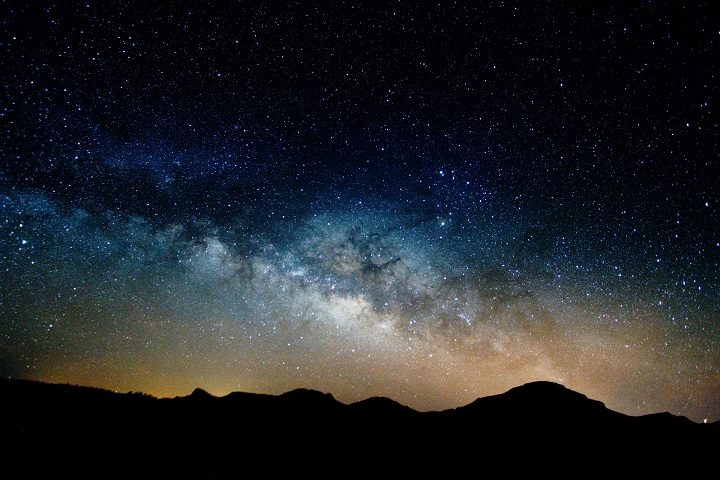 Milky Way taken from Tenerife in March 2015 by Andy Wellington, member of PADAS