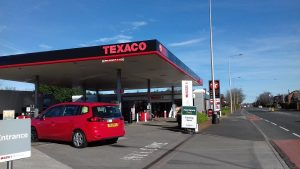 The Texaco garage has seen Co-Op, Spar and soon Morrisons in recent months
