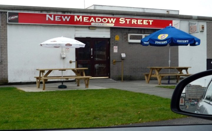 New Meadow Street club is understood to be on the brink of closure Pic: Joe Baxi