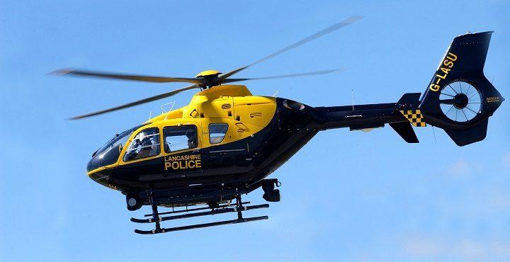 Lancashires Police Helicopter NPAS Warton Makes Final Flight  Blog Preston