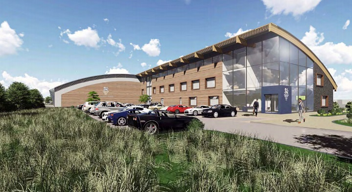 An artist impression of the new training facility which PNE hope would be ready for the 2018 season