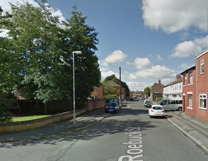 Roebuck Street where the incident took place Pic: Google
