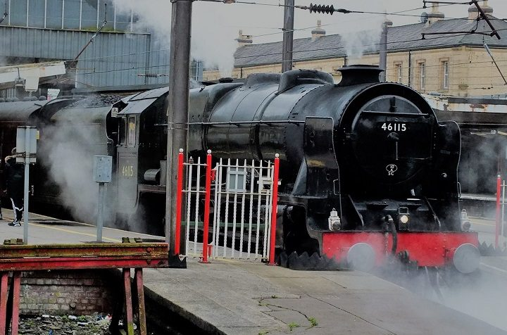 The Leander standing at Preston