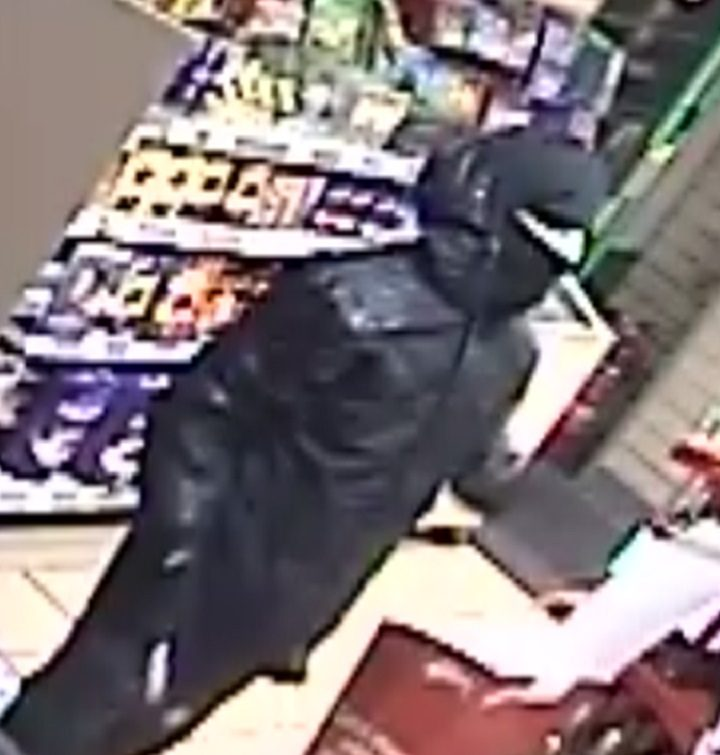 This man was pictured on CCTV during the incident