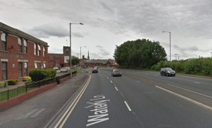 Watery Lane where the crash happened Pic: Google