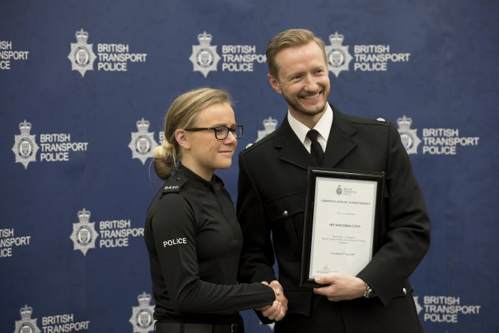 Emma Lynn is sworn in as a special constable