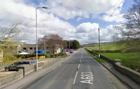 The A683 at Claughton where the crash happened Pic: Google