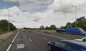 The M6 approaching Junction 28 Pic: Google