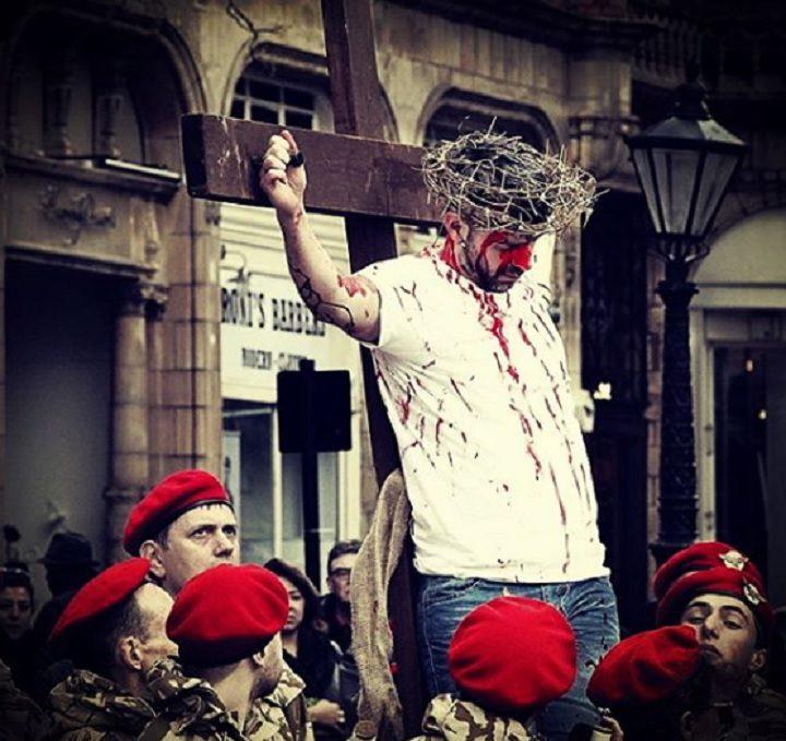 Neil Procter played Jesus