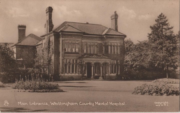 Whittingham mental hospital, then.... pic: George Speight