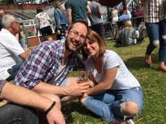 Last year's Conti beer festival saw plenty of sunshine - let's hope for the same