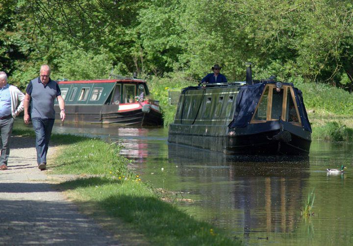Sunshine on the Lancaster Canal at Preston Pic: Tony Worrall