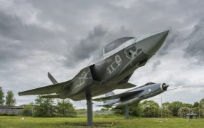 The Lightning is a full-scale model
